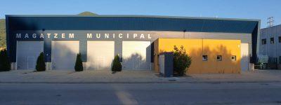 Magatzem, nau brigada municipal la Cellera de Ter 2020-05-27 (2)